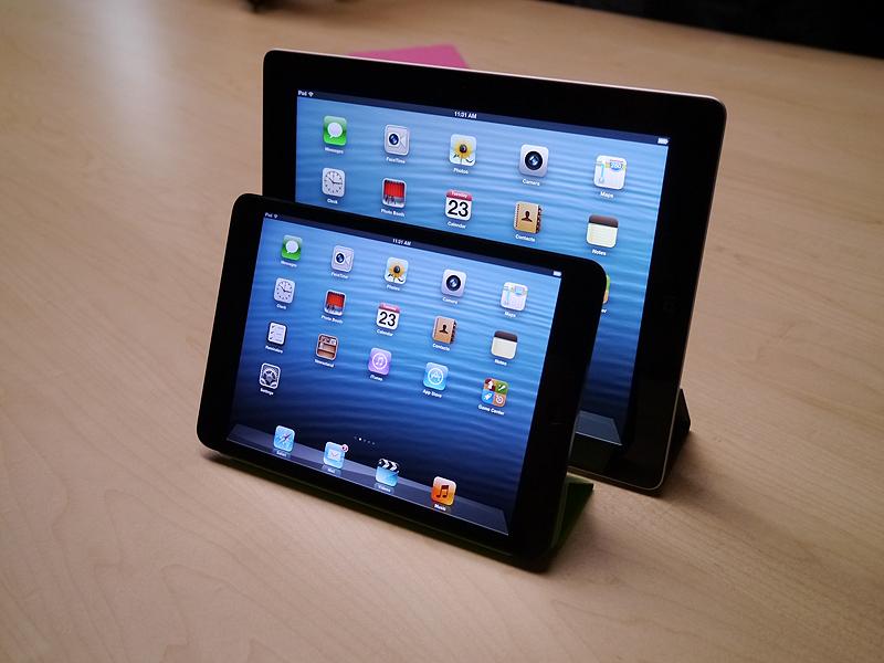 第4世代iPadとiPad mini
