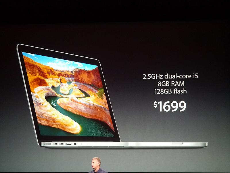 価格は1699ドル。日本では14万4800円からとなっている