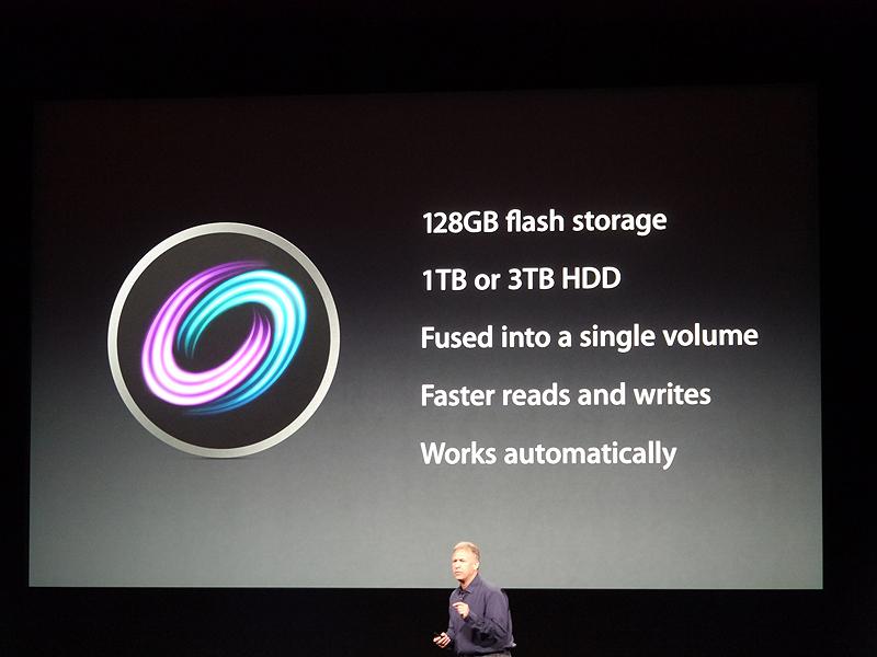 128GBのフラッシュと、1TBあるいは3TBのストレージが選択できる