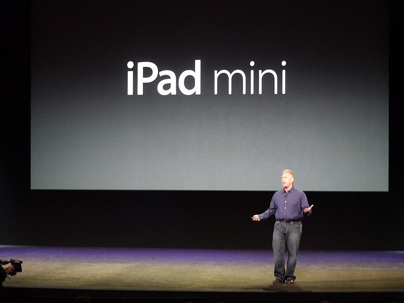 正式名称として「iPad mini」が発表された