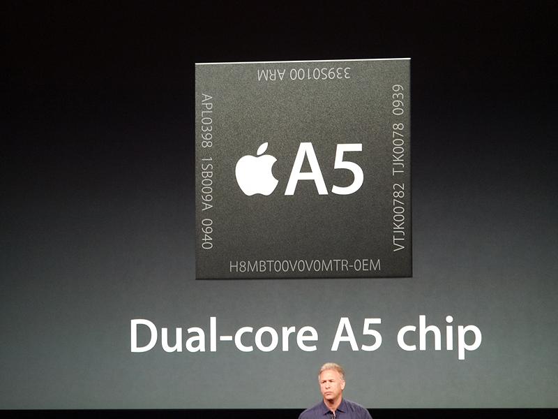 iPad miniにはA5チップを搭載している