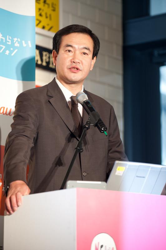 パンテック・ワイヤレス・ジャパン代表取締役の金 栄日氏