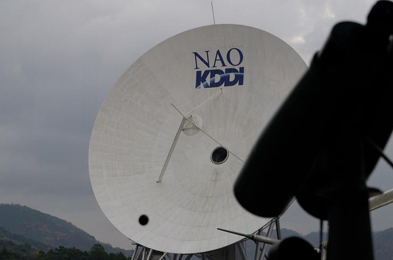 備え付けの望遠鏡も無料で利用できる