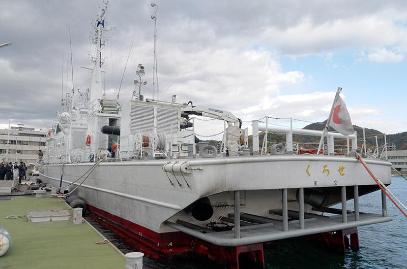 海上保安庁の巡視船「くろせ」