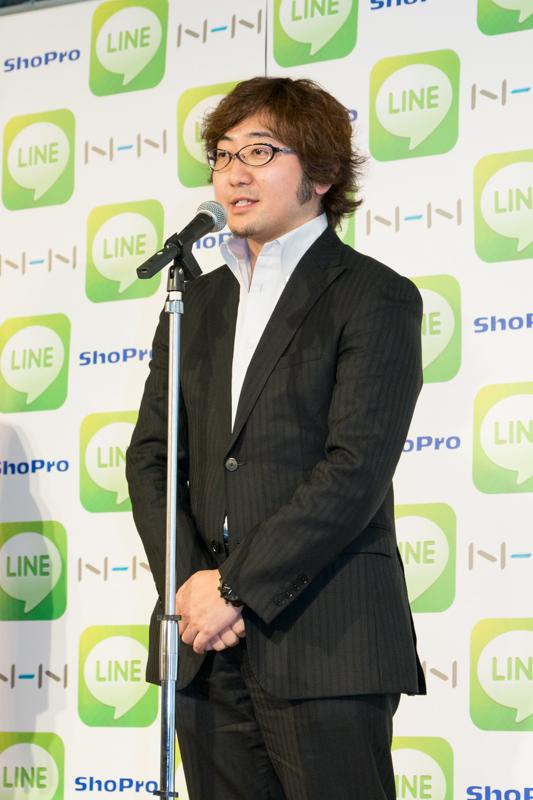 NHN Japan 代表取締役社長の森川亮氏