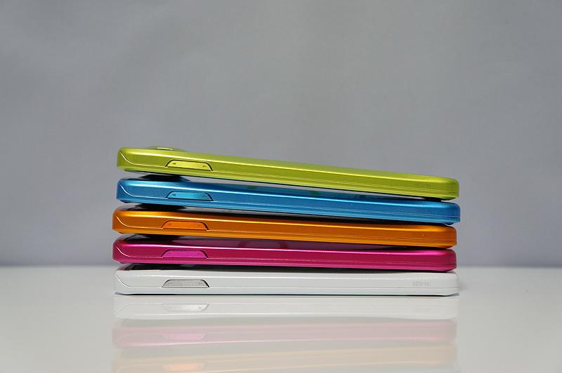 Pinkはミニー、Orangeはくまのプーさん、Greenはティンカーベル、Blueはドナルドダックをイメージ
