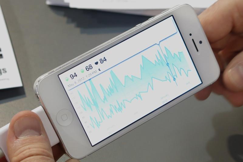 Withingsの活動量計「Smart Activity Tracker」。こちらは未発売