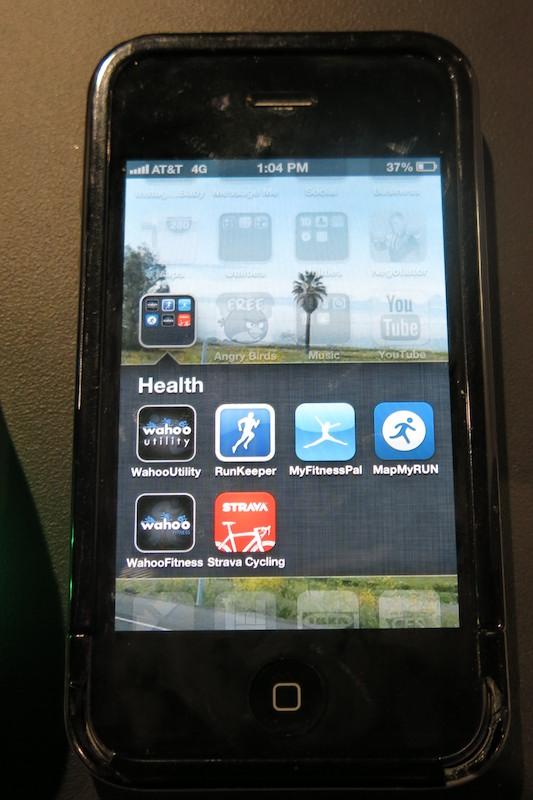 Mio Alpha対応のアプリ