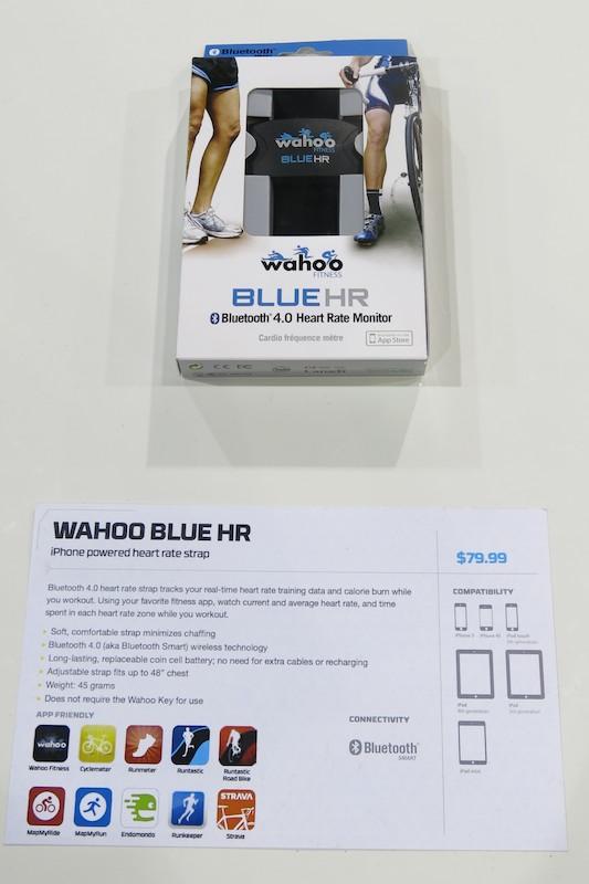Wahooはこのほかにもさまざまな製品を展示していた