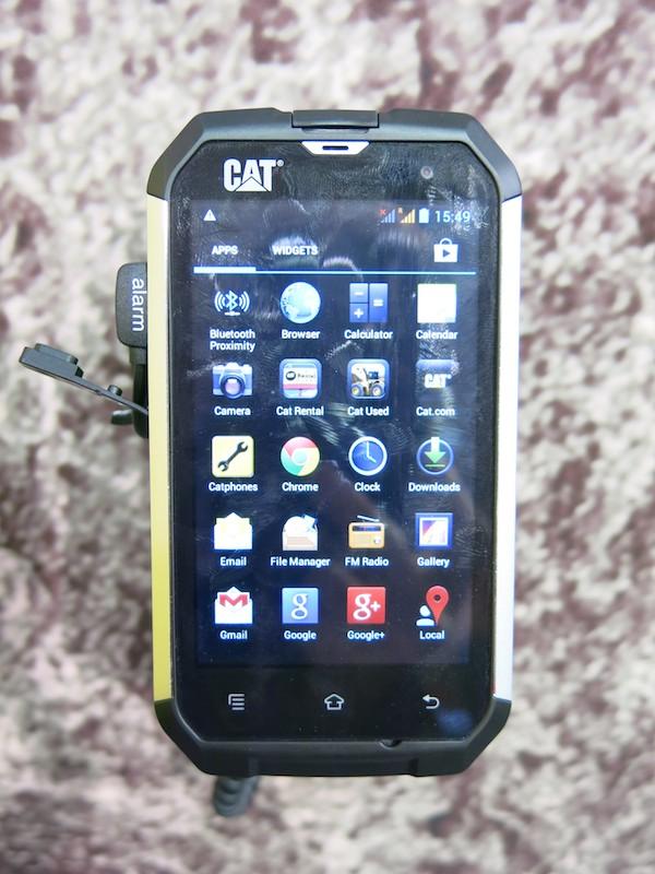 「Cat Rental」などのオリジナルのアプリも搭載される