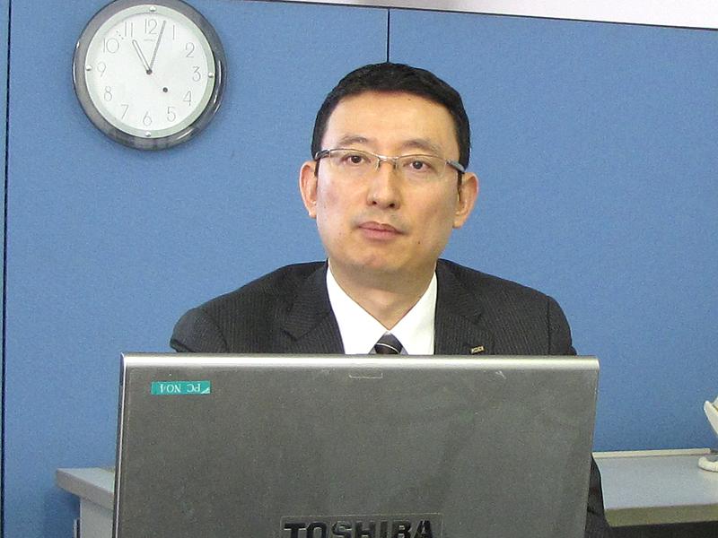 KDDIの松石順應氏が防災対策の詳細を解説した