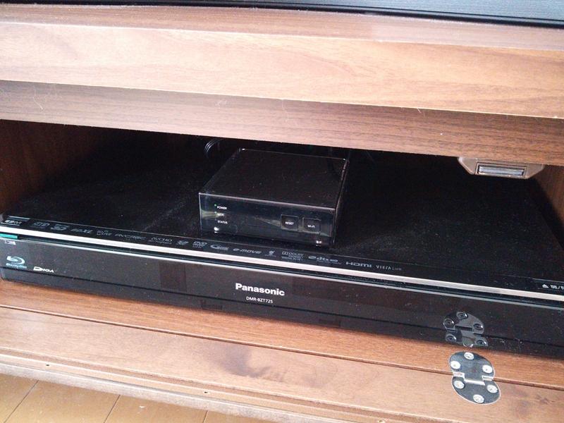 Remote TV(上)とレコーダー