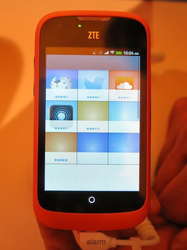 Firefox OSの「ZTE Open」