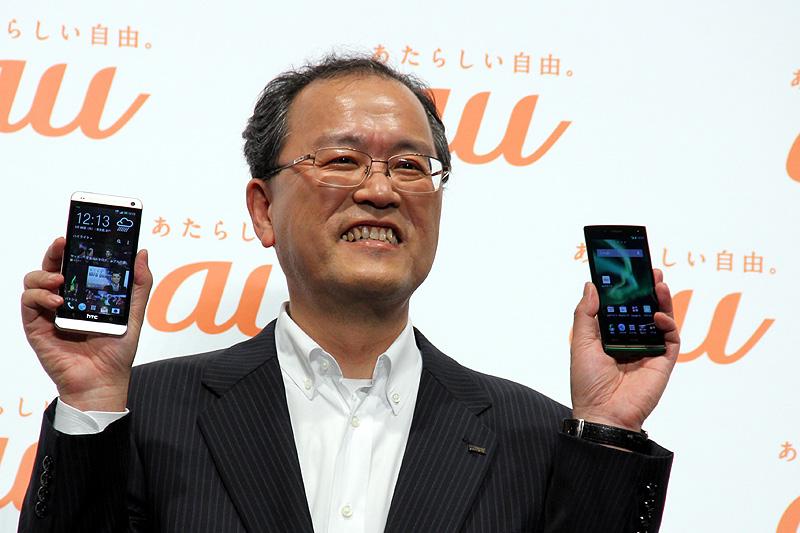 KDDIの田中氏