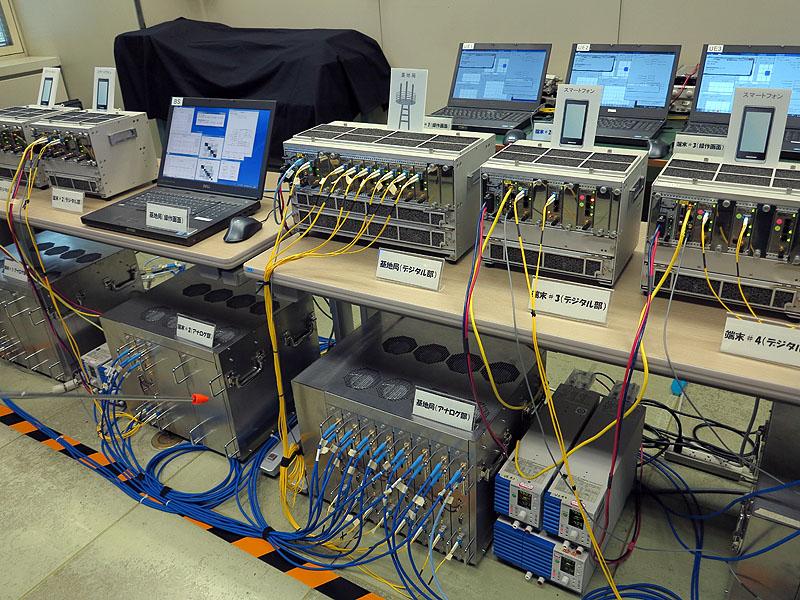 Advanced MIMOの実験設備