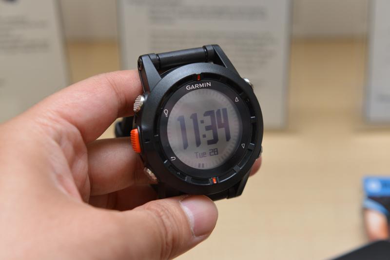 GARMINのGPS腕時計「Fenix」