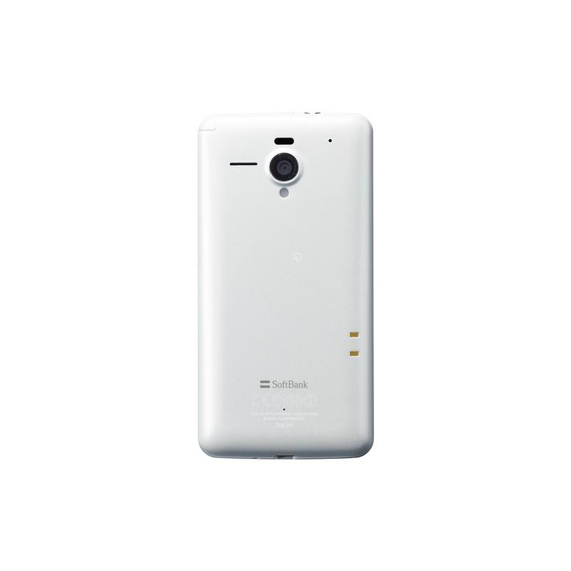 「AQUOS PHONE Xx 206SH」 ラスターホワイト