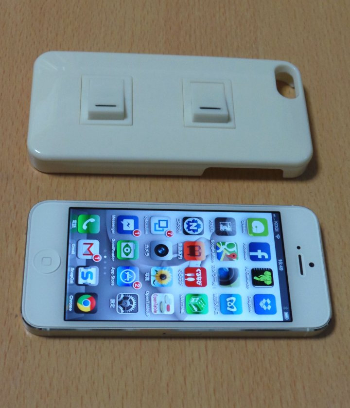 白のiPhone 5にはベストコンビネーションかも
