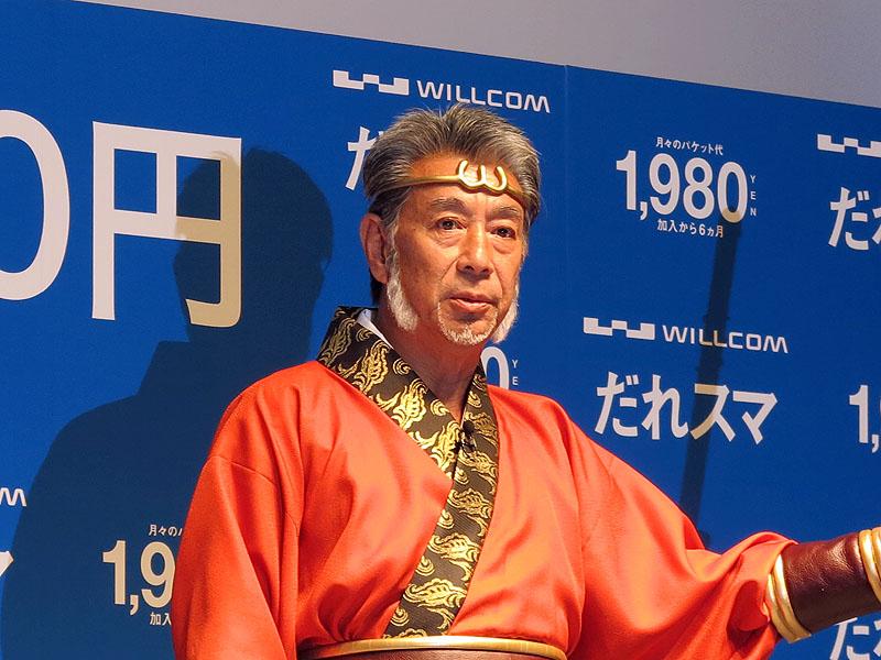 「私も衣装がかわいいなと思って」と語り、場内の笑いを誘った高田純次