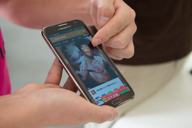 SODAの「たのしい写真共有プラットフォーム(Funpicty)」は、同社が配信している多数のユニークなカメラアプリで作成された写真が集まるプラットフォームになっている