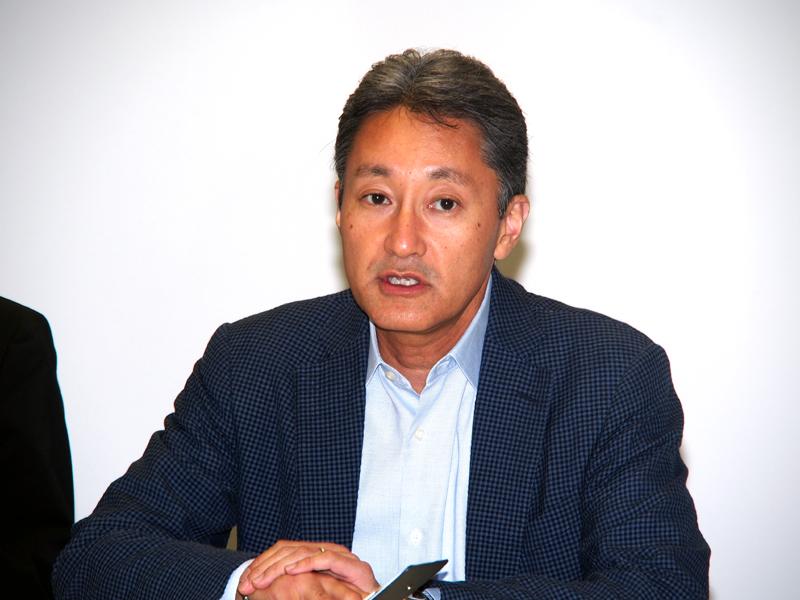 ソニー 代表執行役兼CEOの平井一夫氏