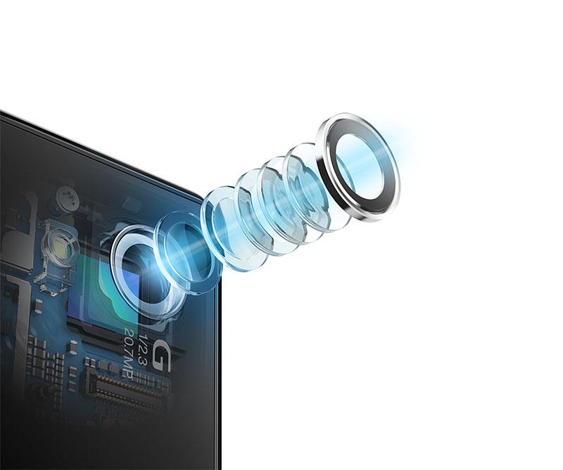 Xperia Z1にはカメラのレンズにもソニーのデジタルカメラの技術が投入されている