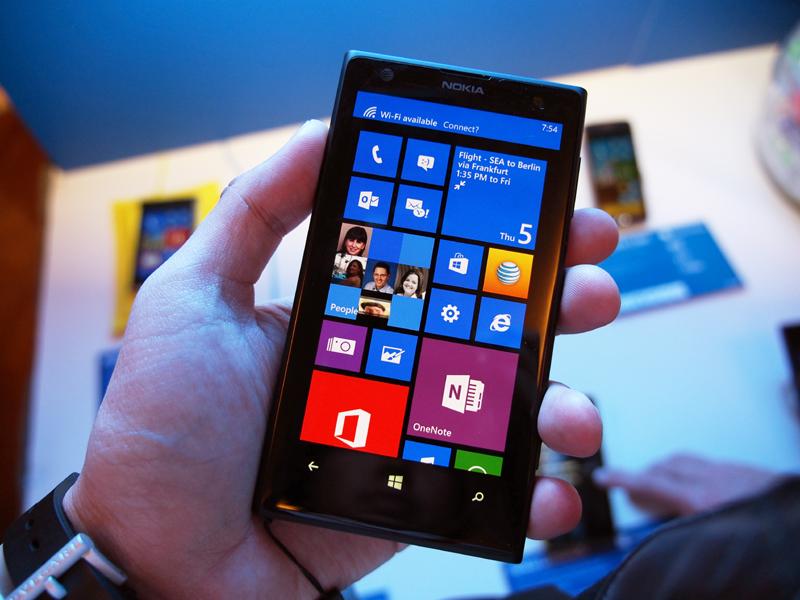 4100万画素のカメラを搭載した「Lumia 1020」