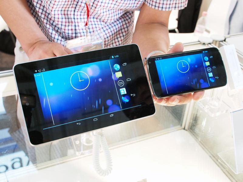 タブレットをスマートフォンのディスプレイ代わりに利用できる技術も開発した