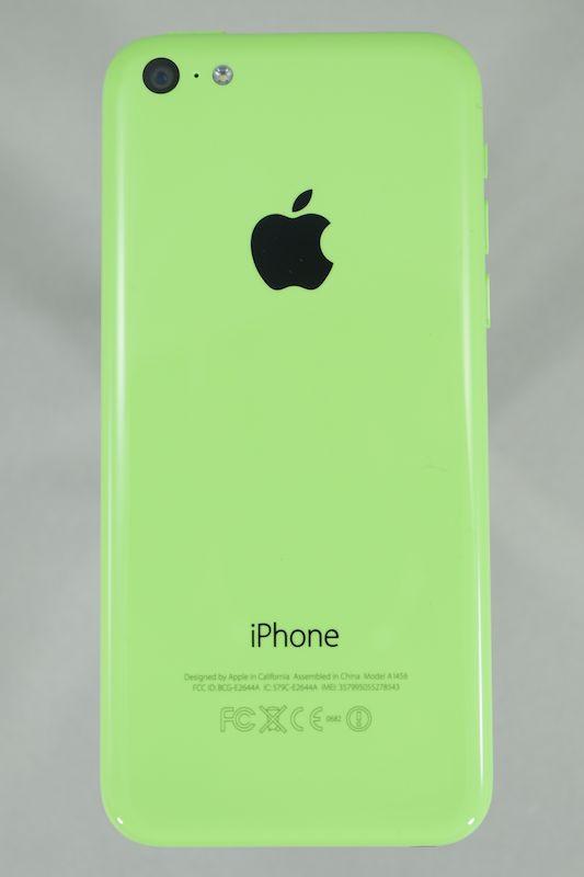 ビビッドなカラーが魅力のiPhone 5c