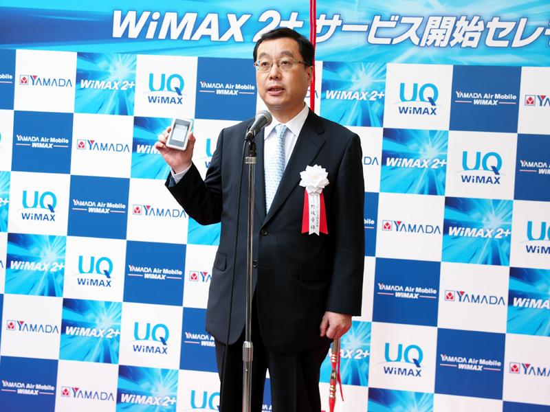 UQコミュニケーションズ 代表取締役社長 野坂章雄氏