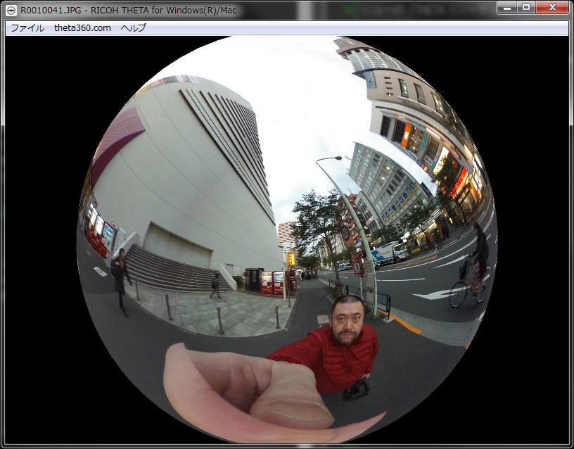 画像の部分拡大にも対応する。つまり見る方向の画角を自由に変えつつ写真を閲覧できるんですな