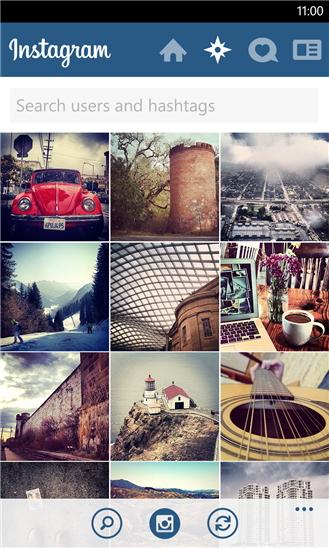 「Instagram」Windows Phone版