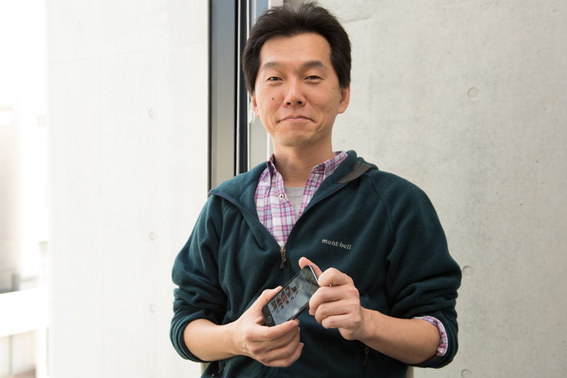 「ツイキャス」を開発したモイ 代表取締役の赤松洋介氏