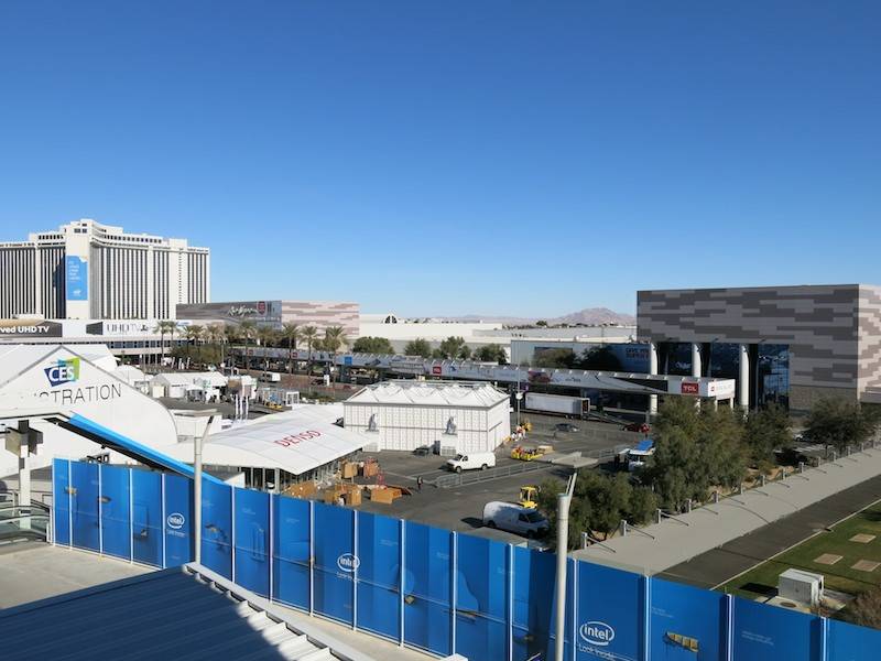 CES会場となるLas Vegas Convention Center