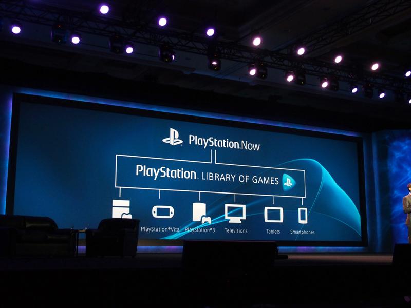 スマートフォンやタブレットはもちろん、テレビなどからもクラウド上のストリーミングゲームにアクセスできる。北米での開始は夏を予定する