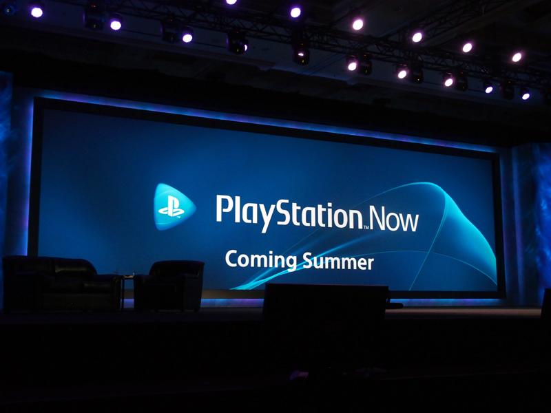 アンドリュー・ハウス氏は「PlayStation Now」を発表した