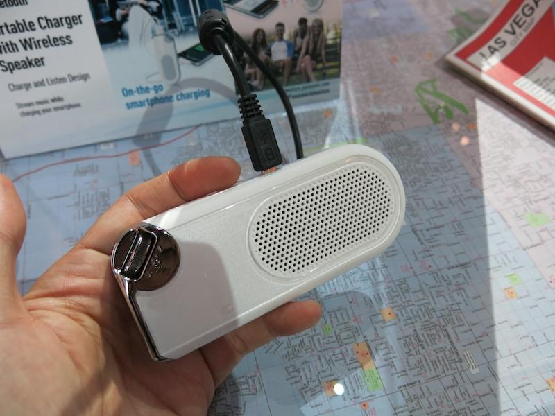 USBバッテリ機能も搭載するBluetoothスピーカー新製品のSC-NJ03。アメリカの直販サイトで89.99ドルで予約受付中
