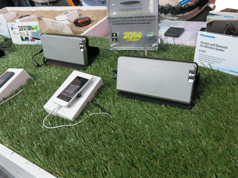Bluetoothスピーカー新製品SC-NA10。日本でも販売されている