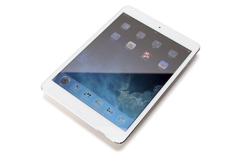 購入した「Apple iPad mini with Retina display A1490 (WiFi + Cellular, 128GB, Silver SIMフリー)」。ぜひ末永く使ってゆきたい!!