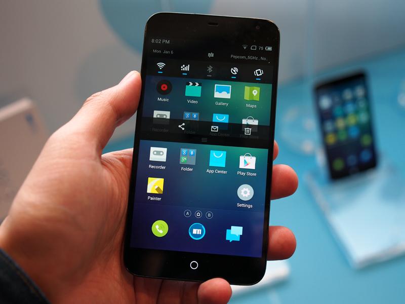 ハイスペックながら、UIまで美しくまとめられている「MEIZU MX3」