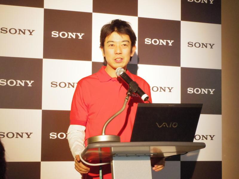 開発担当、ソニー UX・商品戦略本部 SE事業準備室 中西吉洋氏