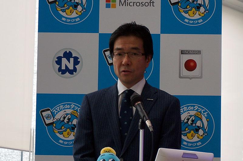 日本マイクロソフトの樋口氏