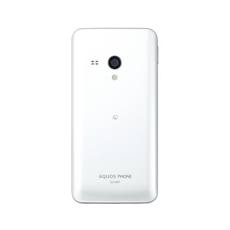 「AQUOS PHONE EX SH-02F」ホワイト