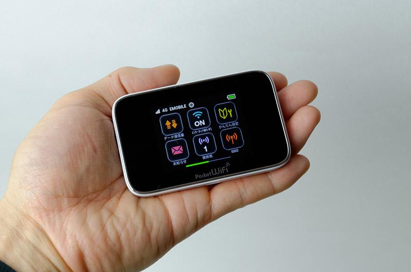 「Pocket WiFi GL10P」がわずかにサイズ、重量がコンパクト