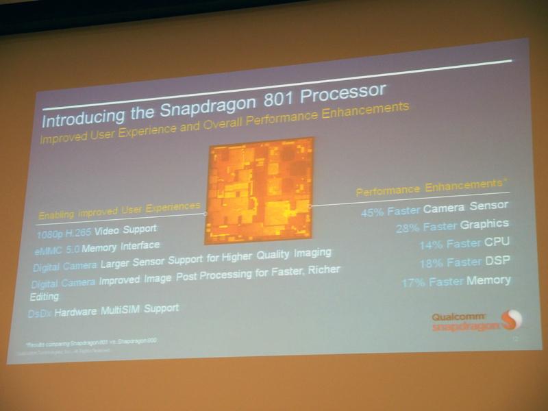 Xperia Z2などに採用された「Snapdragon 801」
