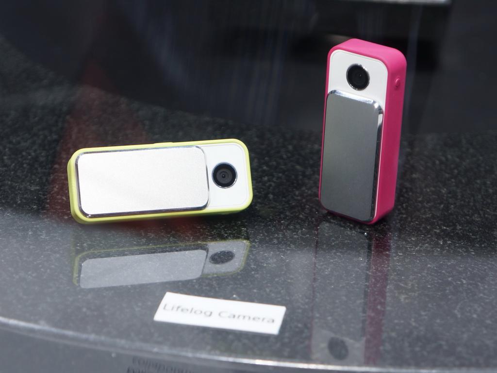 コンセプトモデルとして制作されたカメラ付きCoreモジュール。単純なコンセプトモデルではなく、製品化の準備を進めるために製作したという