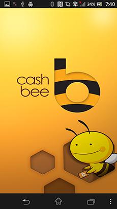 「モバイルcashbee」アプリ