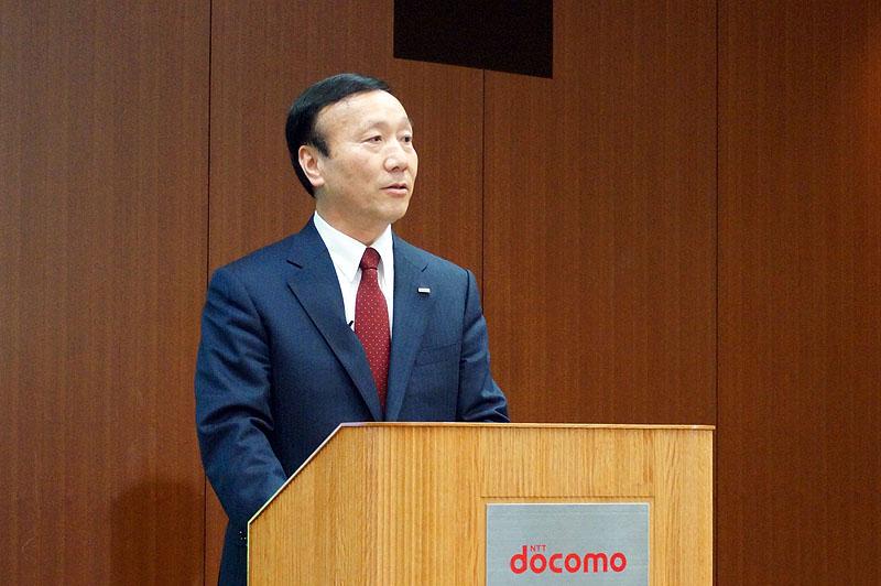 NTTドコモ 代表取締役社長の加藤薫氏