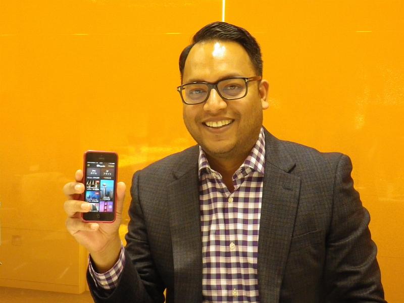 Expedia Inc. Head of Mobile Productのジェラルド・シン氏
