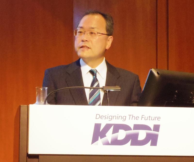 KDDI代表取締役社長 田中孝司氏